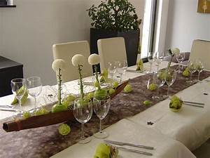 IDEE DECO DE TABLE QuotPOMMES VERTESquot Lutin39s Scrapcook