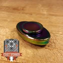 EDC Oval Dual Bar Fidget Spinner (Color Spinner: Black)