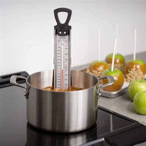 thermometer deep candy test fryer taylor kitchen fry america thermometers precision
