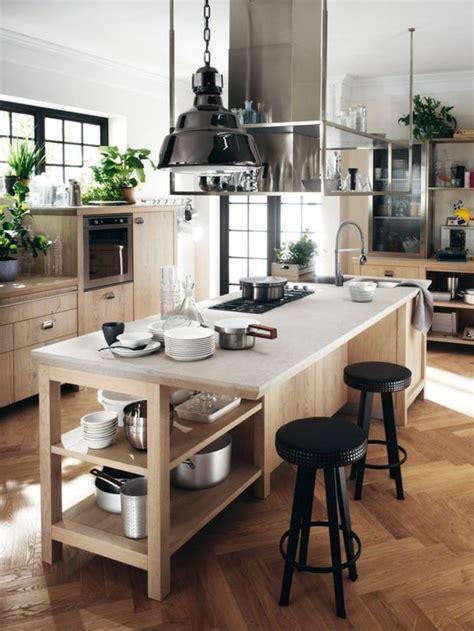 acheter ilot central cuisine la cuisine équipée avec îlot central 66 idées en photos