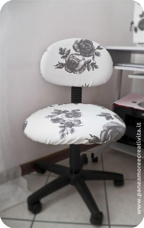 rivestire una sedia da studio ecco il mio secondo