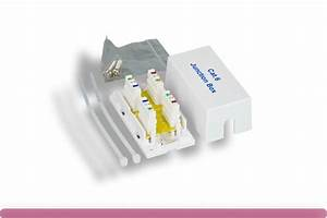 Cat 6 Junction Box  110 Punch Down Type