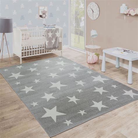 tappeti per bambini tappeto per bambini moderno a pelo corto design stelle