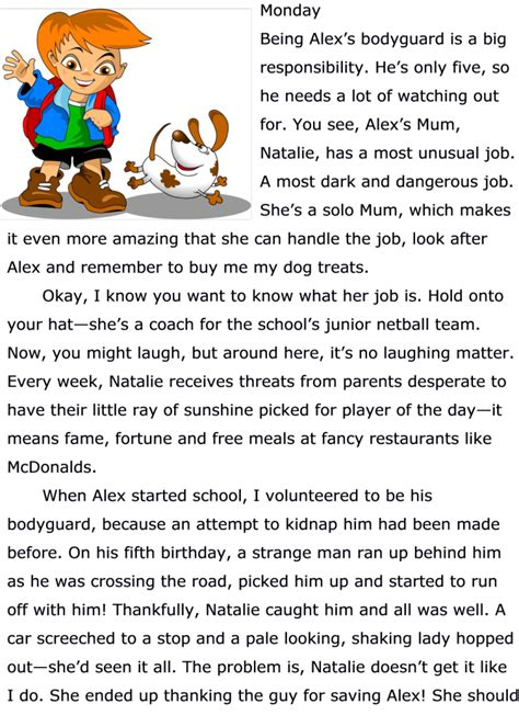 dog stories for preschoolers hilarious children s free story about a pet cossey 717
