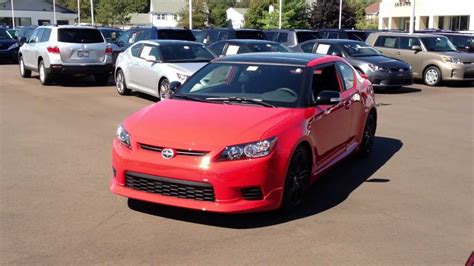 2013 Scion Tc Release Series 8.0 Manual Transmission