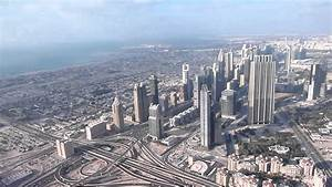 "View from Burj Khalifa's ""At the Top"" observation deck ..."