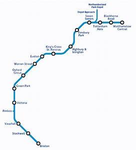 Victoria Line Map Gif  32828 Bytes
