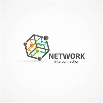 Network Interconnection Vectors Vector Eps Freedesignfile