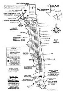 South Padre Island Map