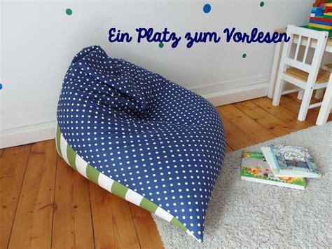 Sitzsack Selber Machen Schnittmuster by Ein Platz Zum Vorlesen Le Carrouselblog