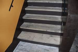 Revetement Escalier Exterieur : revetement escalier interieur ~ Premium-room.com Idées de Décoration