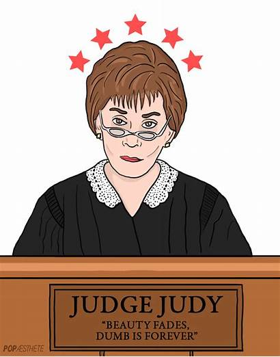 Judge Judy Court Cartoon Animated Giphy Zodiac
