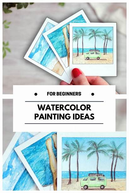 Painting Beginners Watercolor Beginner Easy Makoccino Youtu