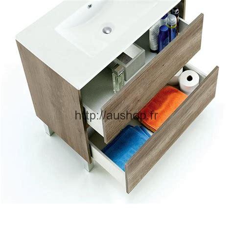meuble sous vasque salle de bain design pas cher armoire rangement