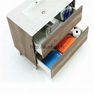 meuble sous vasque salle de bain design pas cher armoire With meuble sous vasque design