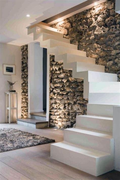 escalier b 233 ton massif beton d 233 coratif liss 233 blanc