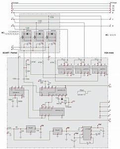 Scart To Vga Converter Cable Scheme Pinout Diagram   Pinouts Ru