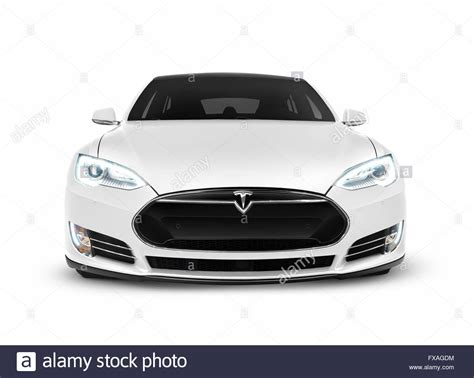 Electric Car Models 2017 by 2017 Tesla Model S Luxury Electric Car Front View Stock