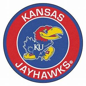 "University of Kansas Jayhawks Logo Roundel Mat - 27"""
