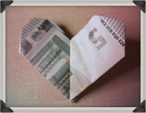aus  euro ein geldgeschenk falten
