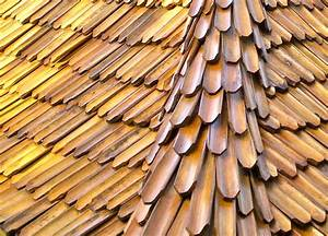 Bamboo roof shingles - Handmade in Bali - Asian - other