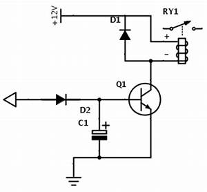 time delay circuit for relay supreem circuits diagram With delay circuit