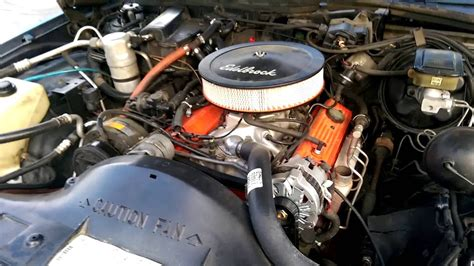 Chevy 305 With A Little Cam New Holley Tbi Intake