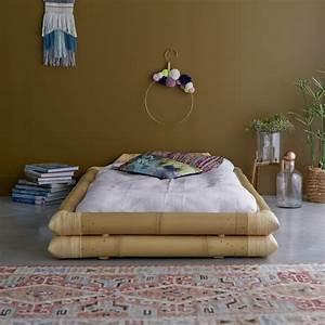Lit En Bambou 90x190 Vente Lits En Tiges De Bambou Balyss