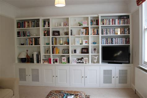 wall bookcase ideas built in bookcases ideas for small space