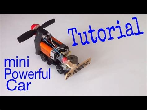 How To Make Electric Car by How To Make A Car Mini Electric Car Tutorial