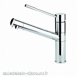 Evier Inox Brossé : gessi mitigeur evier avec douchette 1 jet inox brosse ~ Premium-room.com Idées de Décoration