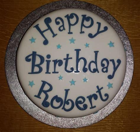 roberts birthday cake cake happy bday pinterest