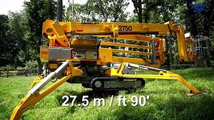 Ommelift 2750 Rxj Tracked Tree Work
