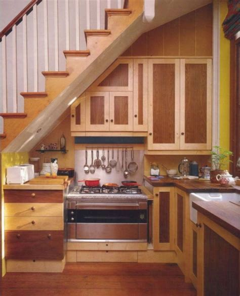 Ideas For A Small Kitchen Space by Small Kitchen Stairs Kitchens The Stairs