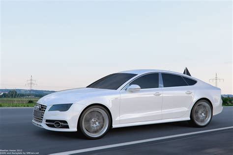 Audi S7 Sportback White By User121o On Deviantart