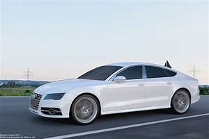 Audi S7 Sportback : audi s7 sportback white by user121o on deviantart ~ Medecine-chirurgie-esthetiques.com Avis de Voitures
