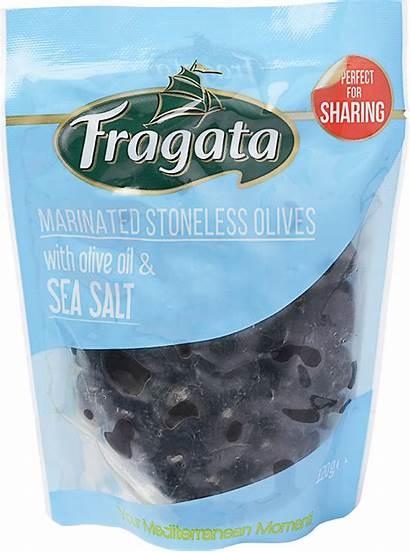 Marinated Olive Salt Sea Oil 120g Olives