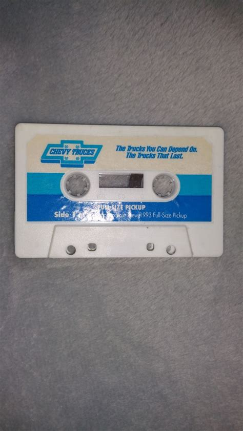 sale chevy  full size pickup audio cassette