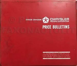 1978 Dodge Plymouth Van Repair Shop Manual Original