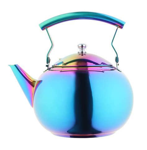 tea kettle induction infuser cooktop teapot steel pots colorful stovetop results qt cup stove