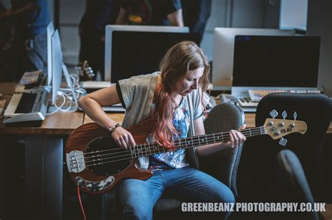 Photographing Bands In The Recording Studio