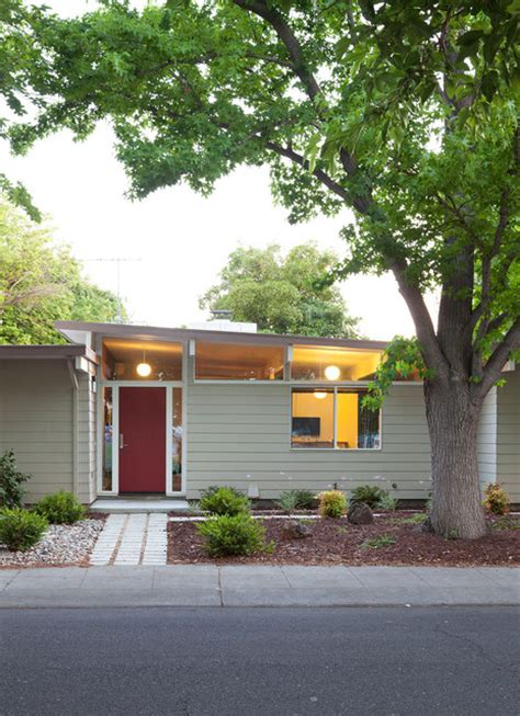 32 small 1950s eichler expansion midcentury exterior san francisco by klopf architecture