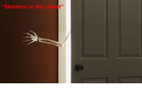 Skeleton In The Closet Idiom by Idioms Common Idioms Their Origins 2