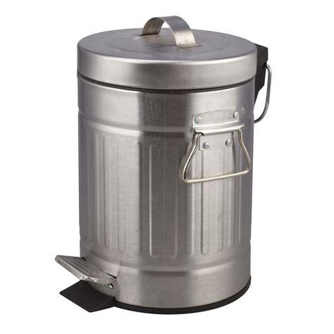 poubelle de salle de bains 3l chrom 233 leroy merlin
