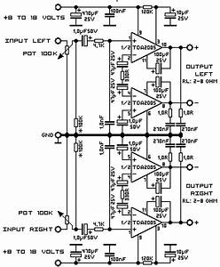 20 Watt Stereo Audio Amplifier Using Tda2005