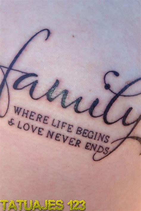 familia tatuajes