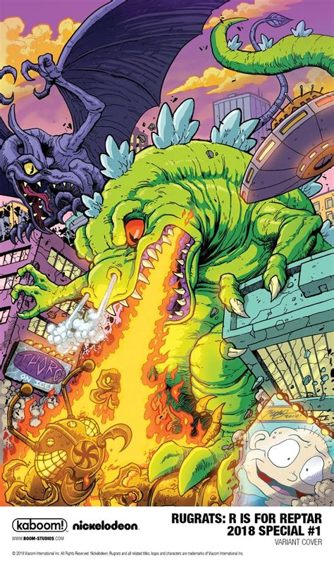 Pin by David Crader on Giant Monsters!!!   Rugrats, Art ...