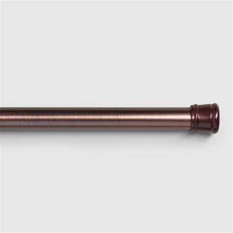 antique bronze tension shower curtain rod world market