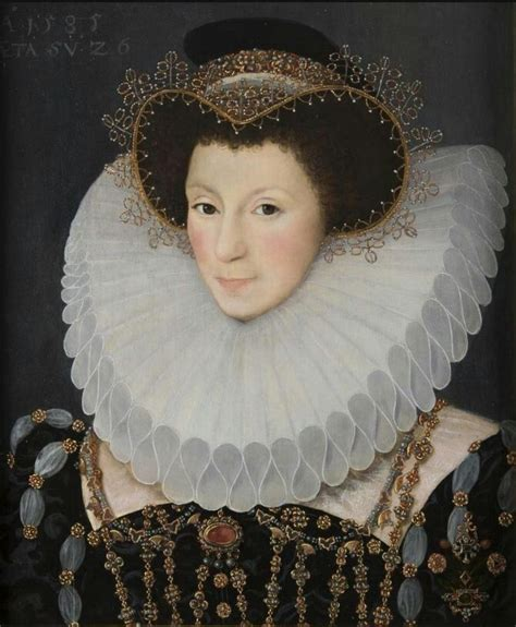 1585 John Bettes The Younger English Noble Woman