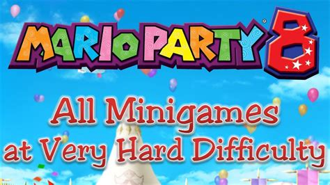 mario party   minigames youtube